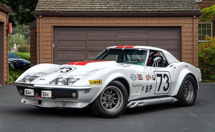 chevrolet corvette stingray 1968 prix