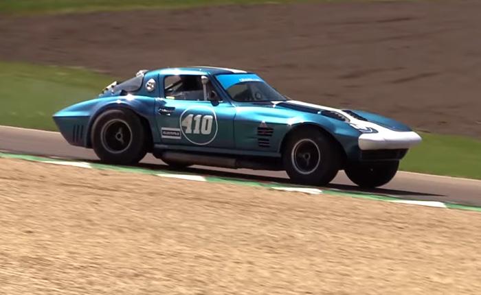 [VIDEO] Replica 1963 Corvette Grand Sport Racer In Action