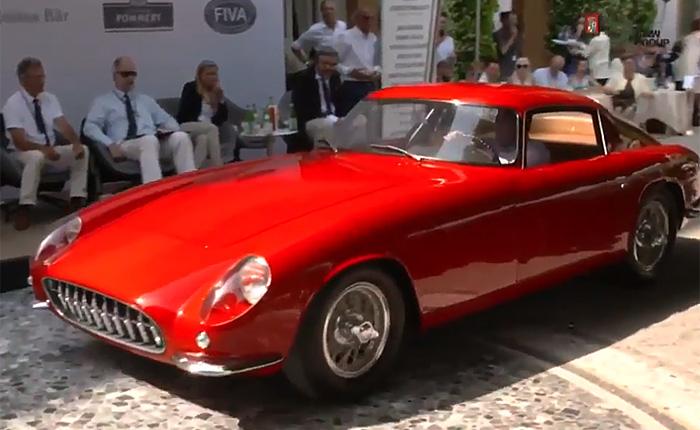 1959 Scaglietti Corvette Shown at Italy's Concorso d'Eleganza Villa d'Este