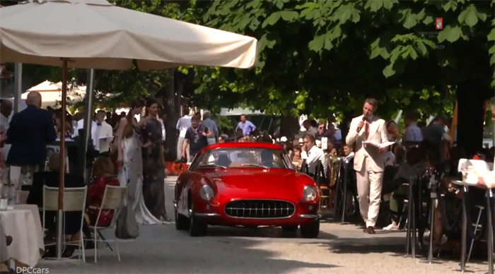[VIDEO] 1959 Scaglietti Corvette Shown at Italy's Concorso d'Eleganza Villa d'Este