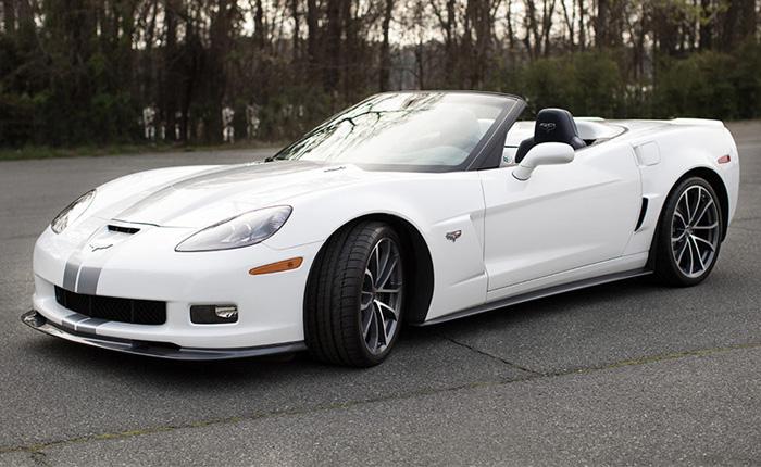 Jeff Gordon's Corvette for Cure Fundraiser Features His 2013 Corvette 427 Convertible