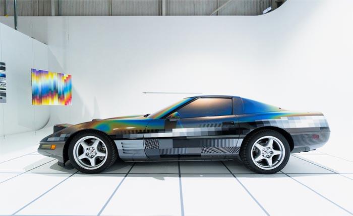 Artist Felipe Pantone Shares Custom Painted 'ULTRADYNAMIC' 1994 Corvette