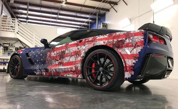 Gallery Old Glory And Corvettes Celebrated On Flag Day 38 Corvette