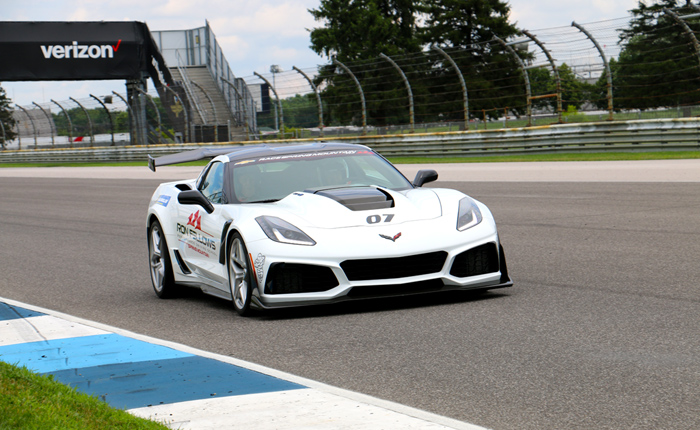 [VIDEO] Ride Along in a Corvette ZR1 at Bloomington Gold