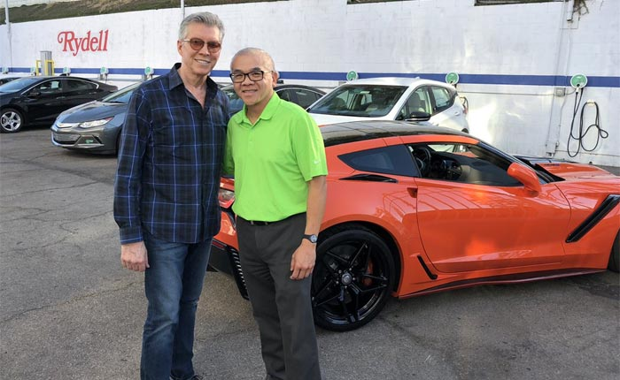 [PICS] Michael Buffer Is Ready to Rumble After Taking Delivery of a 2019 Corvette ZR1