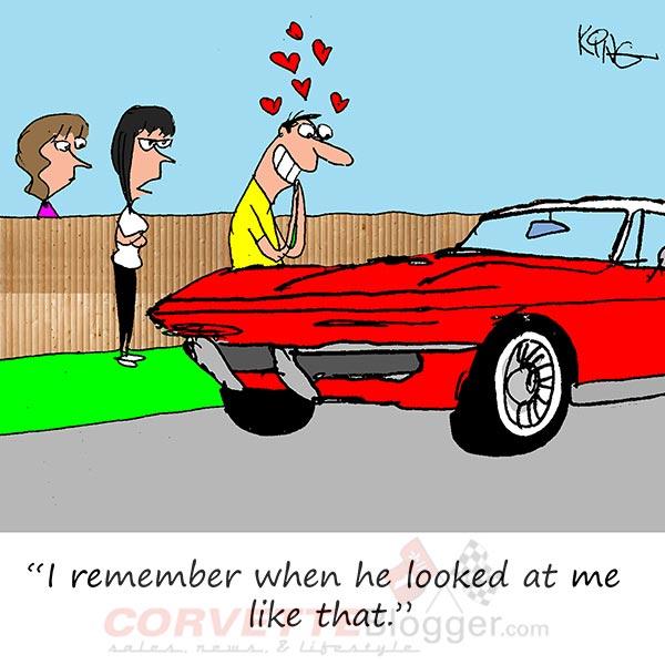 Saturday Morning Corvette Comic: True Love