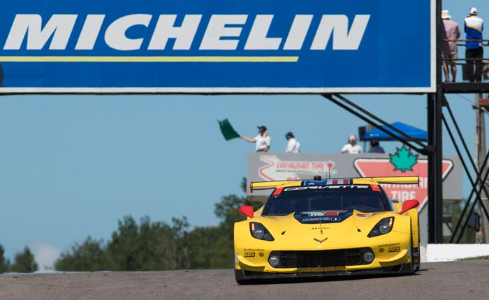 Corvette Racing in Canada: Top-Five Starts for Pair of Chevrolet Corvettes