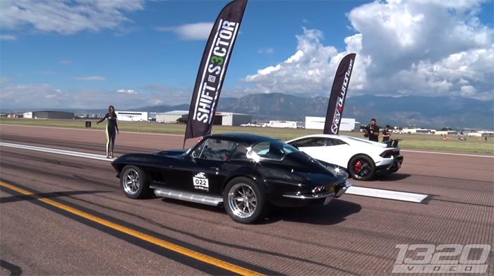 [VIDEO] Twin-Turbo 1967 Corvette Dominates at the Pikes Peak Airstrip Attack