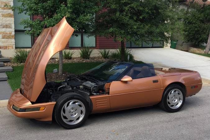 Corvettes on Craigslist: Rare Copper 1994 Corvette ...