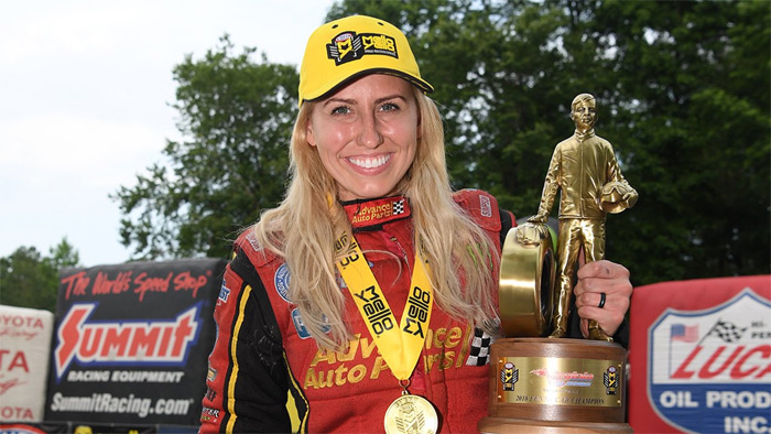 [PICS] NHRA's Courtney Force is a 2019 Corvette ZR1 Owner