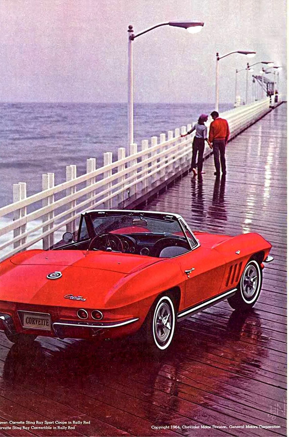 Red 1965 Corvette Formerly Owned by Corvette Hall of Fame's Betty Skelton Discovered in PA