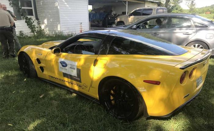 [STOLEN] Cops Go Into Stealth Mode to Capture Women in a Stolen C6 Corvette ZR1