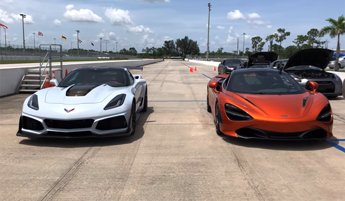 [VIDEO] Corvette ZR1 vs McLaren 720S is What Everyone is Talking About