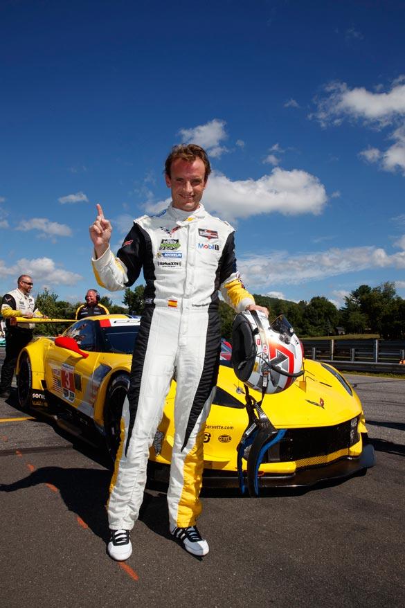 Corvette Racing at Lime Rock: Antonio Garcia Takes the Pole