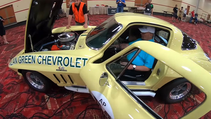 [VIDEO] Gary Gove Starts Up a Vintage 1966 Corvette He Raced 51 Years Ago