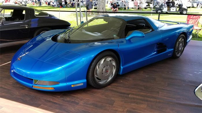 [PICS] Chevrolet CERVS Up Historic Mid-Engine Prototypes at the Concours D'elegance of America