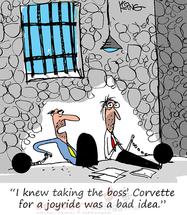 Saturday Morning Corvette Comic: This Won't End Well...