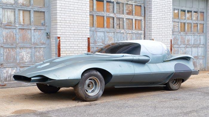 Futuristic 1964 Corvette 'Space Vette' Sells for $3575