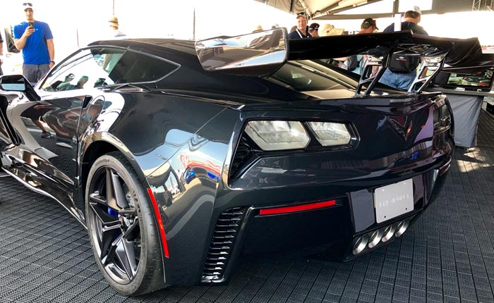 Shadow Gray Enters 2019 Corvette Production Today