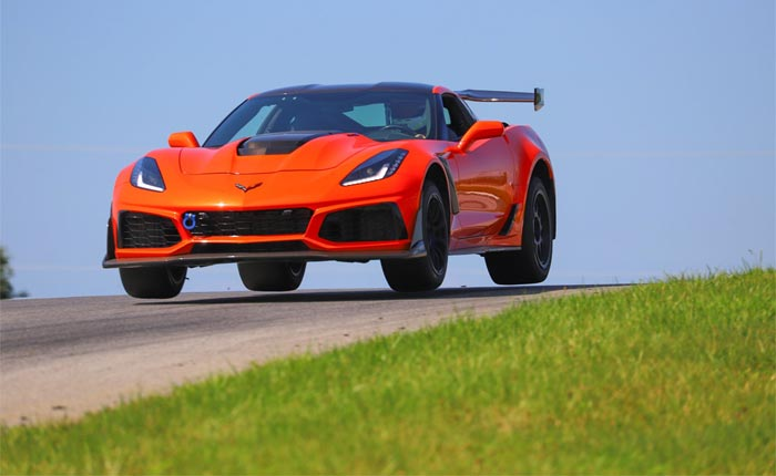 [VIDEO] 2019 Corvette ZR1 Catches Major Air On the Track