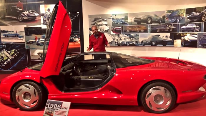 [VIDEO] The Corvette Museum's Curator Derek Moore Takes a Closer Look at the Mid-Engine Corvette
