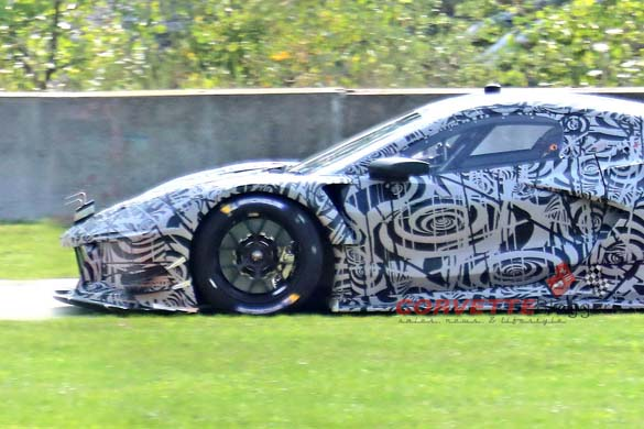 Spy Photos of the Mid-Engine Corvette C8.R Offers the Best Look Yet at the Upcoming C8