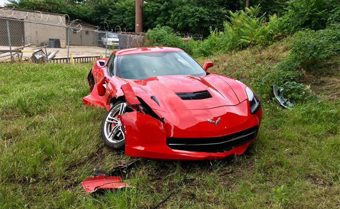 [STOLEN] Teenage Carjacker Steals a C7 Corvette Before Crashing Into Multiple Vehicles During Police Chase