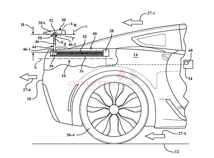 Gm Has New Patents Approved For Active Side Skirts Spoilers And