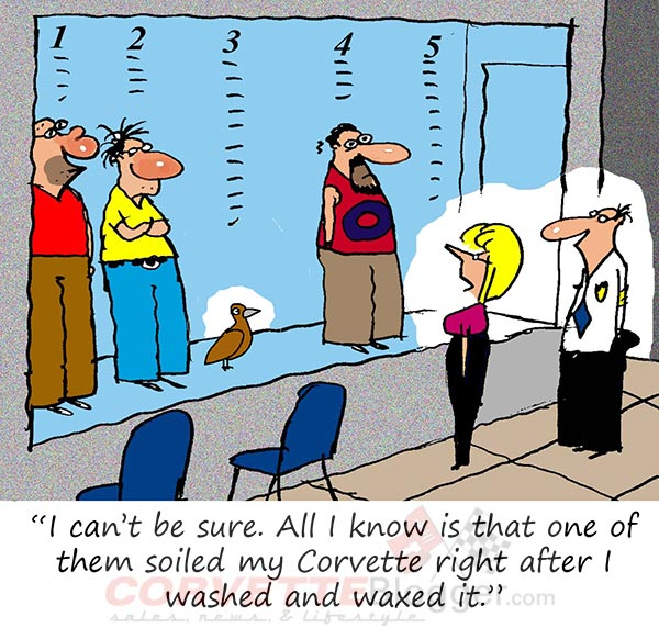 Saturday Morning Corvette Comic: Time to Come Clean!