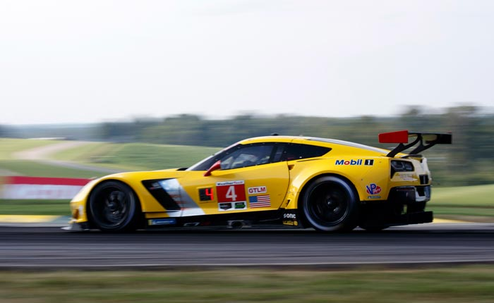Corvette Racing at VIR: Second, Fourth Rows in Shot at Three-peat