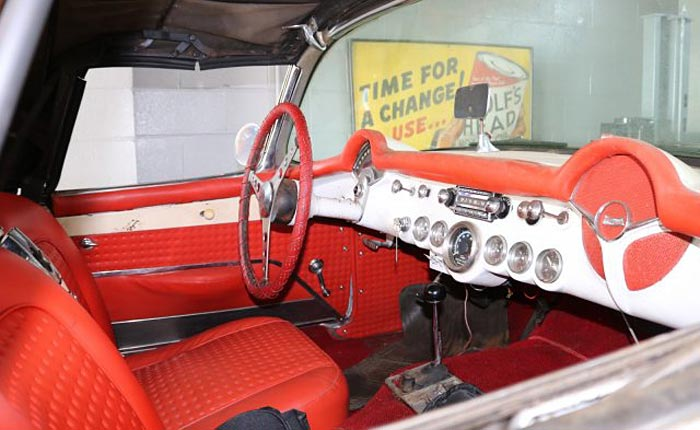 Corvettes on eBay: Barn-Find 1957 Corvette Rescued after 25 years of Storage