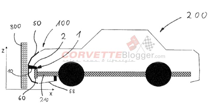 Front Carriage for a Mother Vehicle Comprising a Bumper Covering