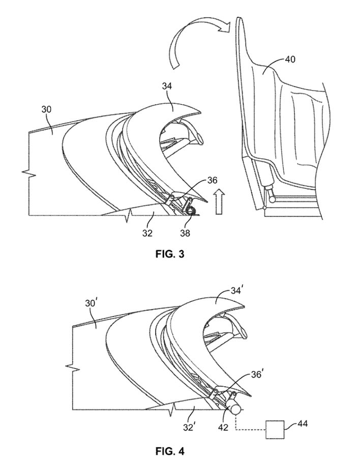 Chevrolet Patents New Air Deflector for the Corvette Convertible
