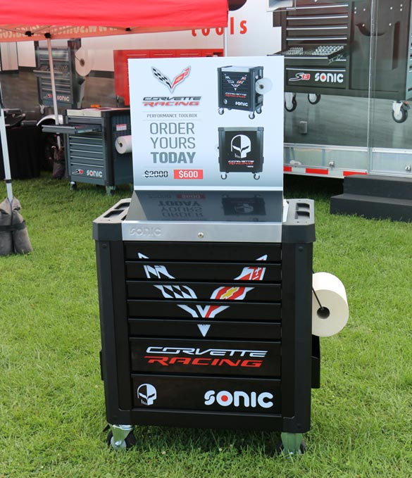 SONIC Tools USA Corvette Performance Toolboxes are Almost Sold Out!
