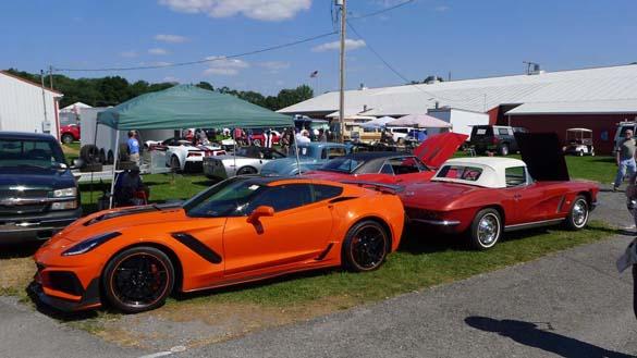 The 2018 Corvettes at Carlisle Show