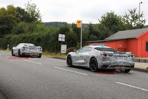 [SPIED] The C8 Mid-Engine Corvette Hits the Nurburgring!