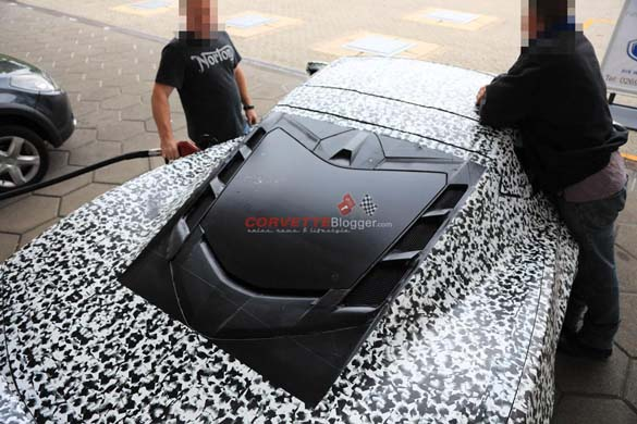 Patent Application Details C8 Corvette's Engine Compartment Cooling Vents