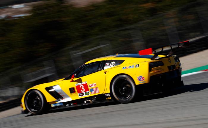 Corvette Racing in Laguna Seca: Pole position for Gavin, Corvette No. 4