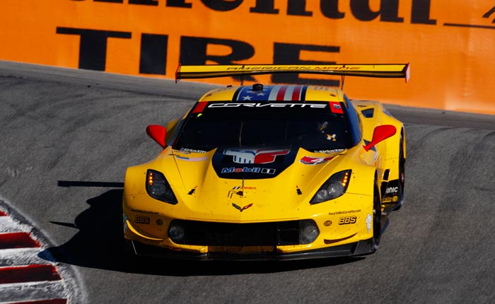Corvette Racing at Lagina Seca: Points Lead for Garcia, Magnussen Going to Finale