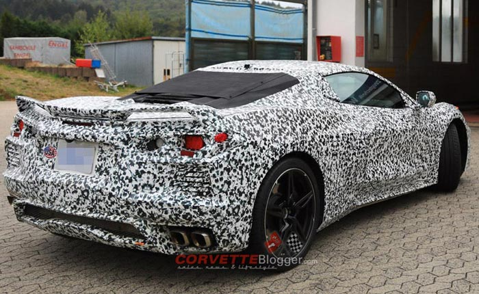 C8 Mid-Engine Corvette Spy photos from the Nurburgring