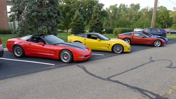 The 2018 Corvettes on Woodward Charity Food Drive