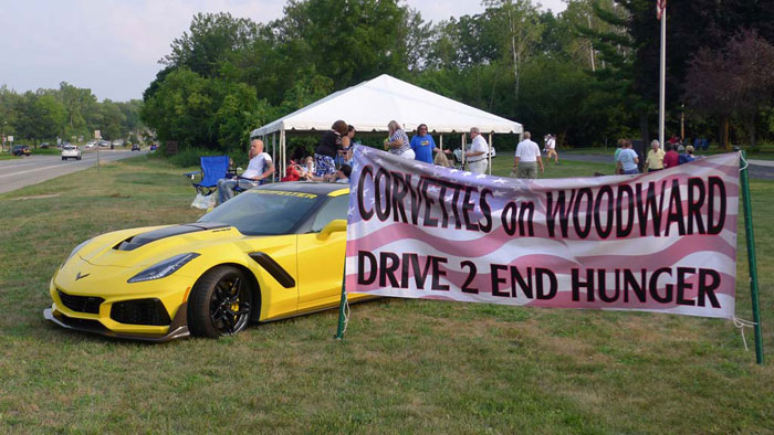 [PICS] The 2018 Corvettes on Woodward Charity Food Drive