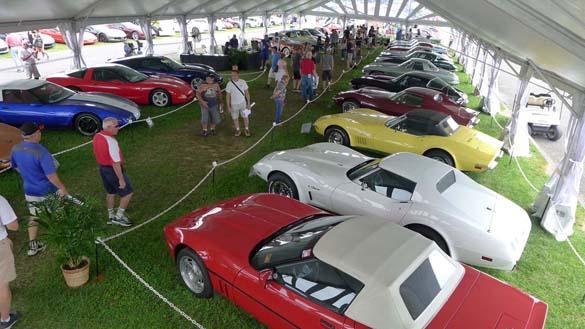 The NCRS Gallery VXVIII at Corvettes at Carlisle