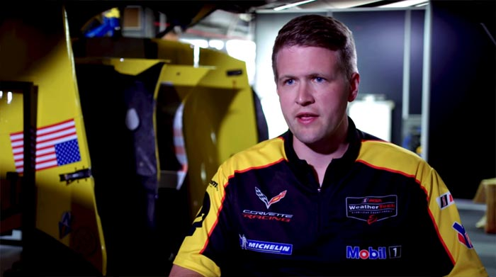 [VIDEO] Mobil 1 The Grid: Meet Corvette Racing's Team Manager Ben Johnson