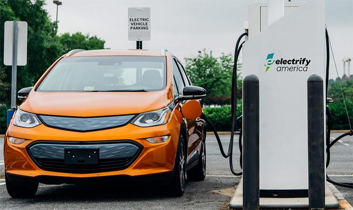 EV Charging Station Coming to the National Corvette Museum as Part of VW's Electrify America Initiative