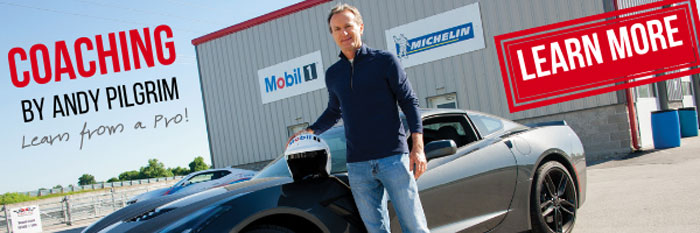 NCM Motorsports Park Offering Coaching Sessions by Corvette Hall of Fame Racer Andy Pilgrim