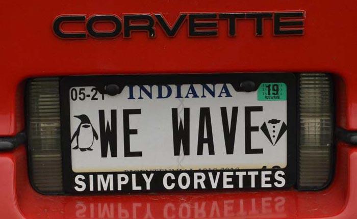 [PICS] The Vanity Plates from Corvette Funfest 2018