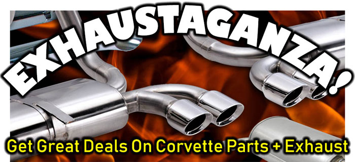 Exhaustaganza: Free Shipping on Exhaust Systems and More from Corvette Central