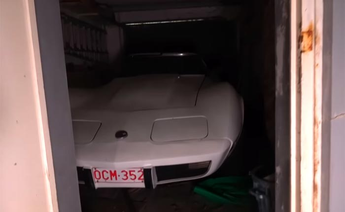 [VIDEO] 1976 Corvette Stingray Discovered in an Abandoned House in Belgium