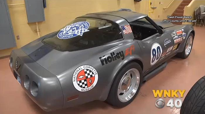 Bowling Green Students Restore a 1980 Corvette Donated by the National Corvette Museum